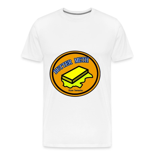 Butter Meth Logo png - Men's Premium T-Shirt