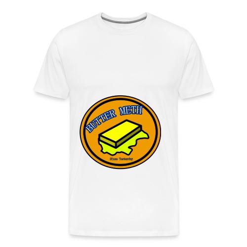 Butter Meth Logo png - Men's Premium T-Shirt