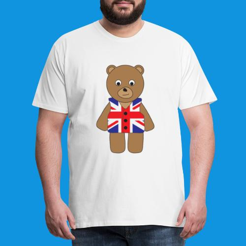 UK Bear tank - Men's Premium T-Shirt