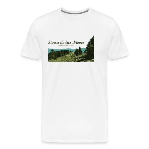 Sierra de las Nieves Parque Nacional - Camiseta premium hombre