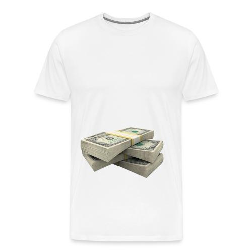 money PNG3523 png - Mannen Premium T-shirt