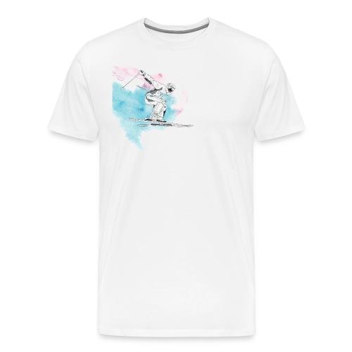 Skiing - Men's Premium T-Shirt