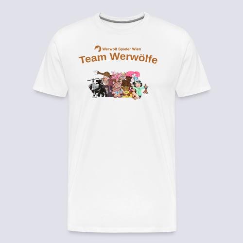 Team Werwölfe - Männer Premium T-Shirt