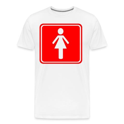 HETERO png - Männer Premium T-Shirt