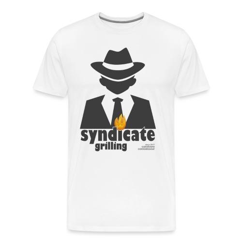Syndicate Grilling - Mafia Grillshirt - Männer Premium T-Shirt
