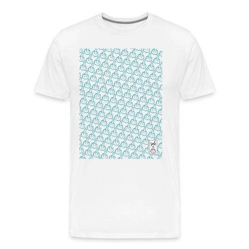 YOLO_TEE_TRAME_BLEU - T-shirt Premium Homme