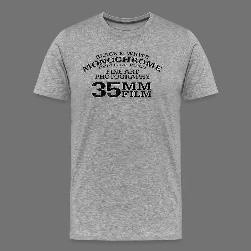 35mm (czarny oldstyle) - Koszulka męska Premium