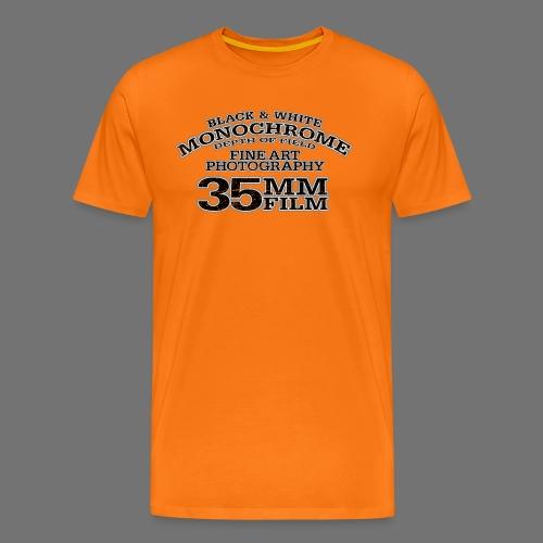 35mm (black oldstyle) - Men's Premium T-Shirt