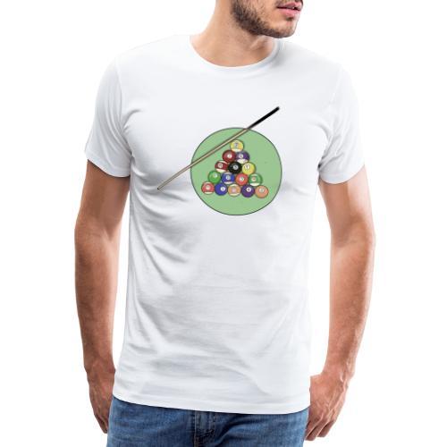 Billards party - T-shirt Premium Homme