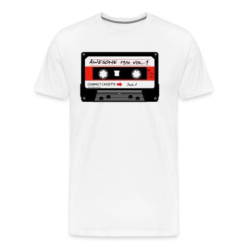 Old school audio cassette - Men's Premium T-Shirt