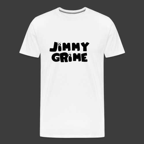 Jimmy Grime White Family Guy Shirt - Camiseta premium hombre