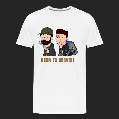 Wankul - Born to survive - T-shirt Premium Homme