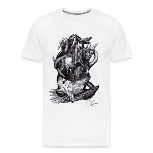 Nightmares_tshirtdesign_2 - Männer Premium T-Shirt