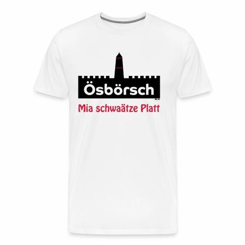 Burg Osburg - Männer Premium T-Shirt