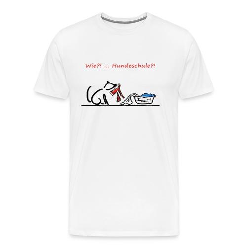 Wie? Hundeschule - Männer Premium T-Shirt