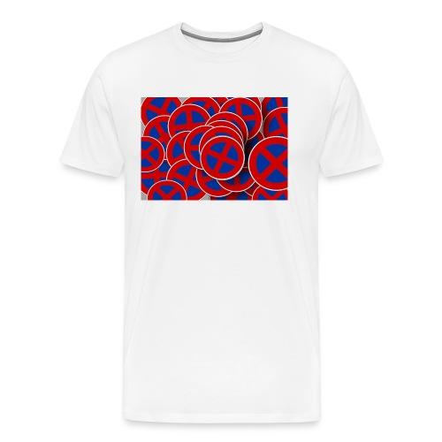Parken verboten Tshirts rund - Männer Premium T-Shirt