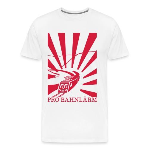 Pro Bahnlärm Rheintal - Männer Premium T-Shirt