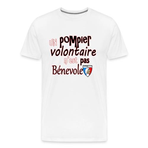pompier volotaire - T-shirt Premium Homme