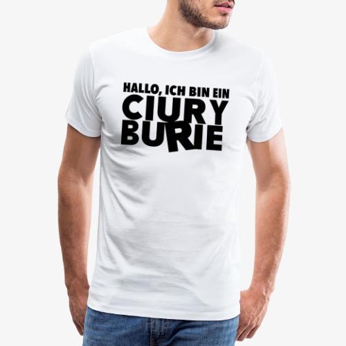 Hallo, ich bin ein CB - T-shirt, Männer - Männer Premium T-Shirt