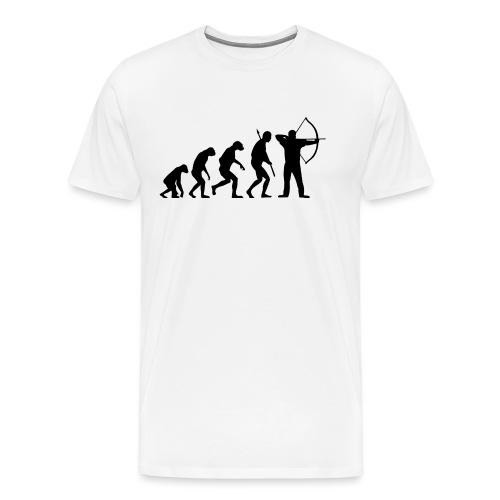EvolutionArchery Noir - T-shirt Premium Homme