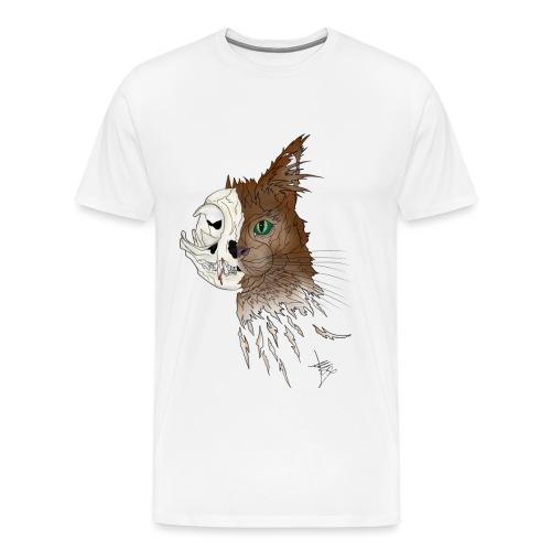 Maine Coon Squelette 02 png - T-shirt Premium Homme
