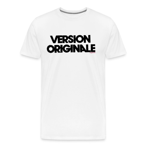 Version Original - T-shirt Premium Homme