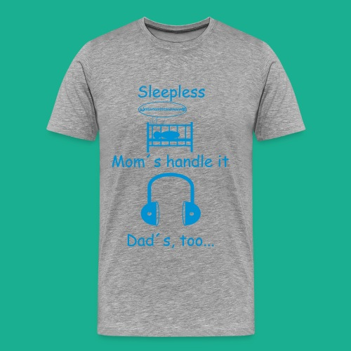 Sleepless - Männer Premium T-Shirt