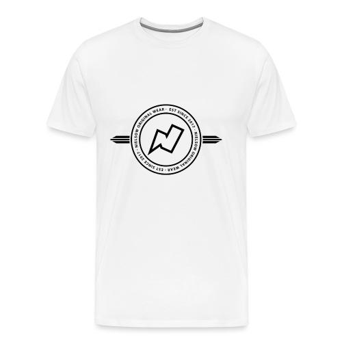 Merch Niels png - Mannen Premium T-shirt