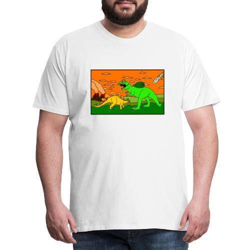 Schneckosaurier von dodocomics - Männer Premium T-Shirt