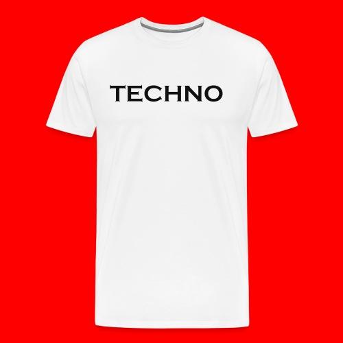 Parts of Life Techno Black - Männer Premium T-Shirt