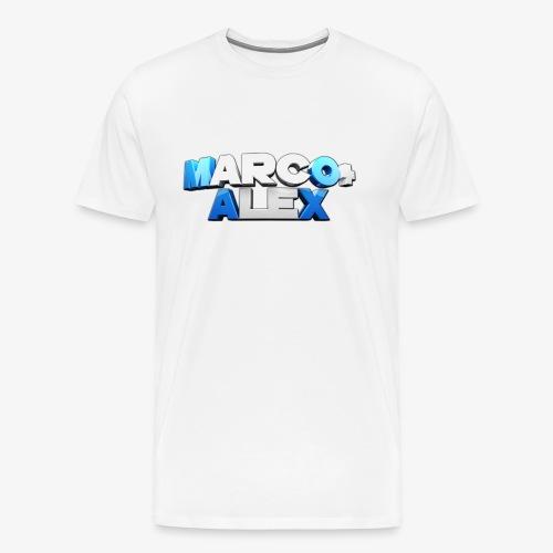 Logo Marco+Alex - Maglietta Premium da uomo