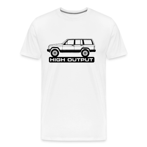 Jeep XJ High Output - Autonaut.com - Men's Premium T-Shirt