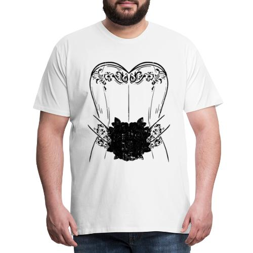 Braut Bride Hochzeit Junggesellin Polterabend Ehe - Männer Premium T-Shirt