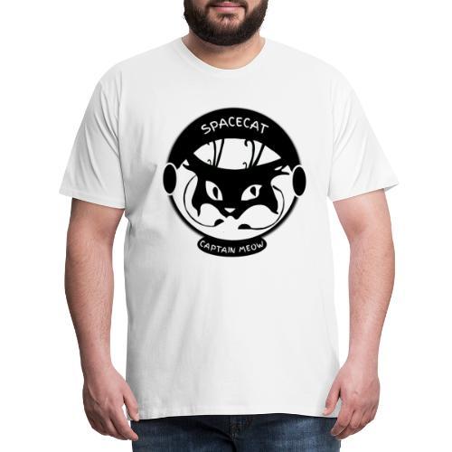 Spacecat Captain Meow - Männer Premium T-Shirt