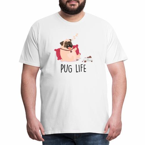 PUG LIFE Hunde Haustiere - Männer Premium T-Shirt