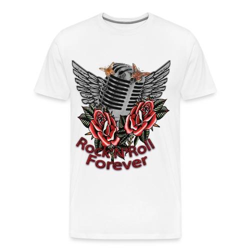 Rock'n'Roll Forever - Männer Premium T-Shirt