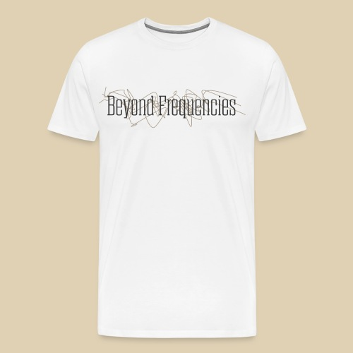 Beyond Frequencies - Classig Design - Männer Premium T-Shirt