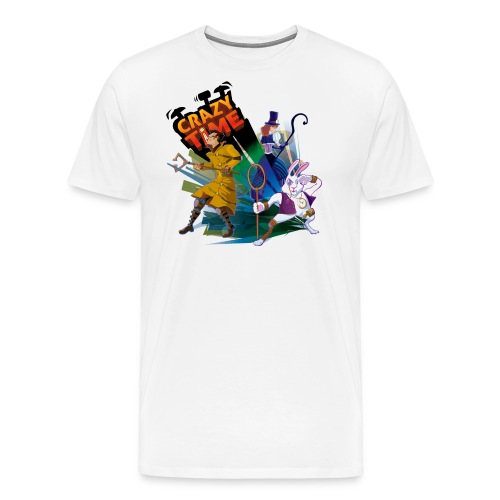 teeshirt quand blanc png - T-shirt Premium Homme