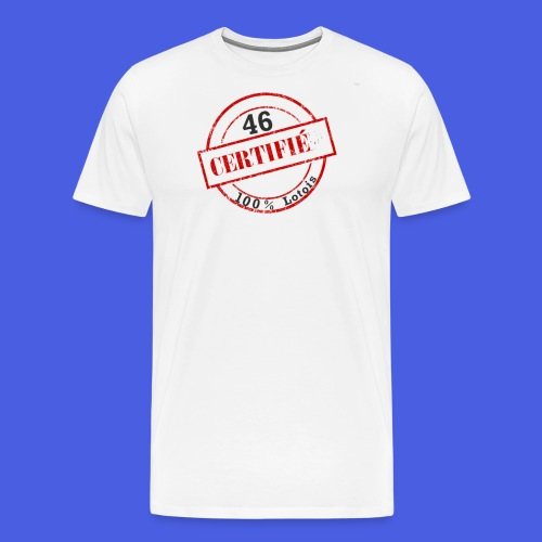 100lotois png - T-shirt Premium Homme