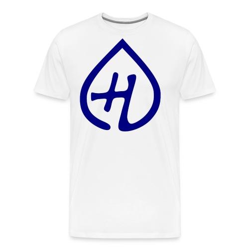 Hangprinter logo - Premium-T-shirt herr