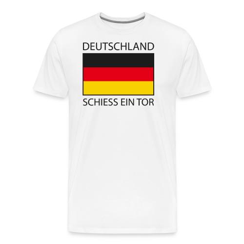Deutschland Schiess ein Tor PX - Männer Premium T-Shirt