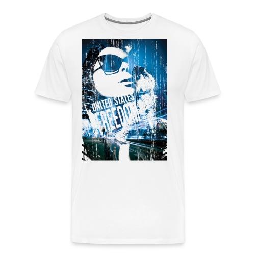 united states of freedom - Men's Premium T-Shirt