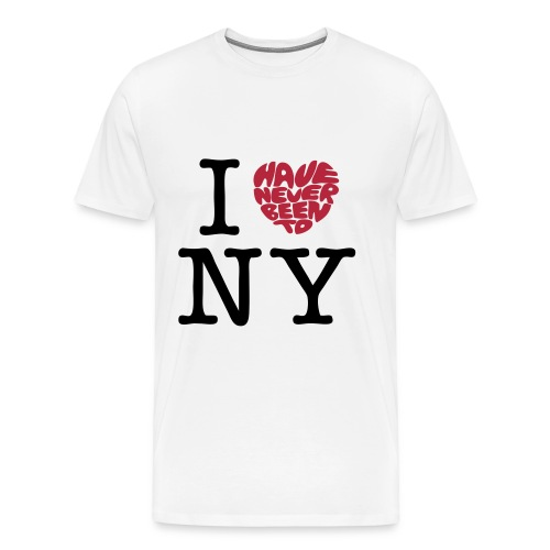 Never been to NY - Männer Premium T-Shirt
