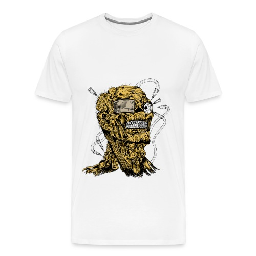 Zombie on steroid - Men's Premium T-Shirt