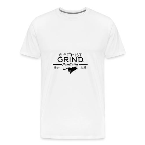 Optimist Grind Logo png - Men's Premium T-Shirt