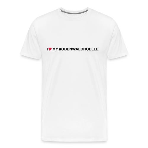 I love my odenwaldhoelle - Männer Premium T-Shirt