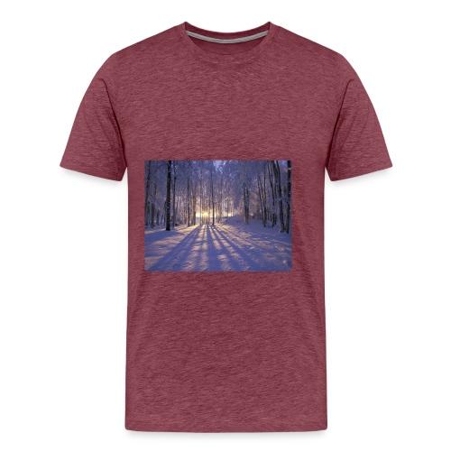 Wintercollectie - Mannen Premium T-shirt