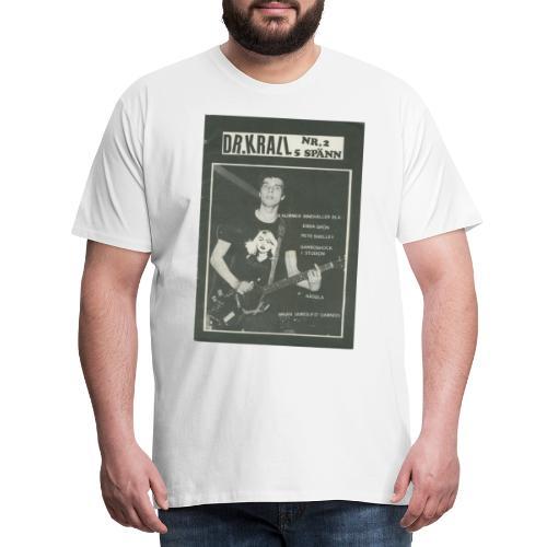 Svart Dr Krall - Premium-T-shirt herr