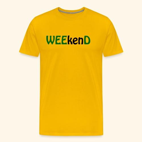 weed - Männer Premium T-Shirt