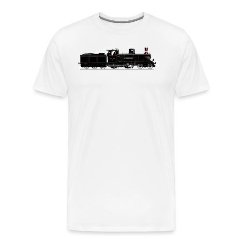 DSB litra C - Herre premium T-shirt